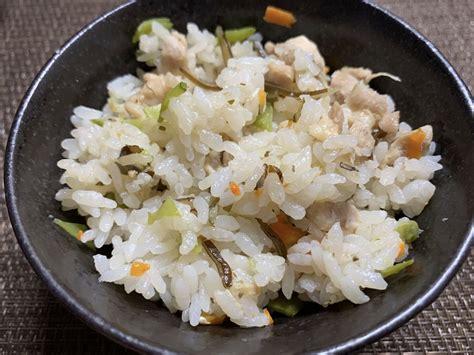 炊き込み ご飯 カロリー