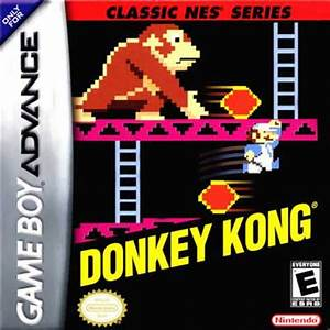 Donkey Kong NES Series Nintendo Game Boy Advance
