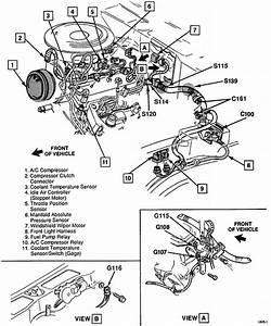 Park Light Wiring Diagram For 1996 Gmc Sonoma 4  3