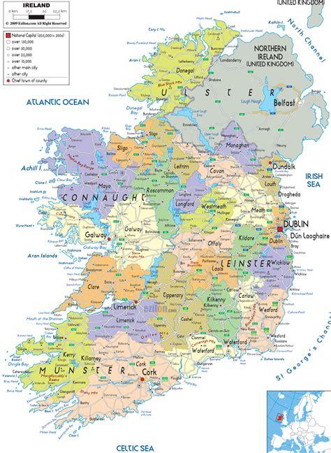 map map  ireland