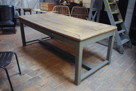 le de bureau ancienne ancienne table d 39 atelier début xxème par le marchand d