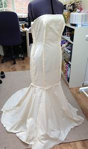 fishtail wedding dress pattern the front wedding With sewing wedding dress