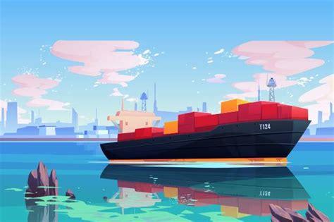 jalur transportasi laut  penting  dunia