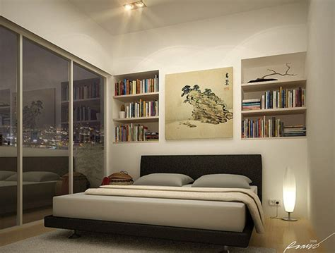 decora  disena dormitorios juveniles minimalistas ideas