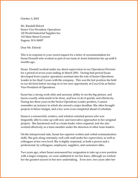 8 professional reference letter template sales report