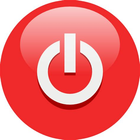 schalter design power button clip at clker vector clip royalty free domain