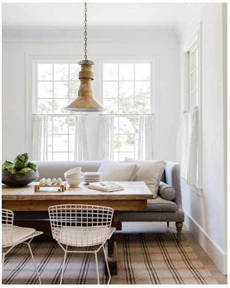Dining Room Sofa by My Notting Hill Tharp Luxury Simplicity Dining