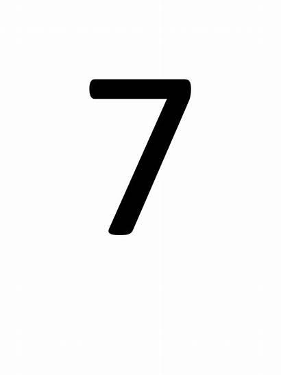 Number Number7 Pngimg
