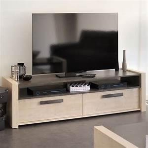 Meuble Tv Chene Clair : meuble tv chene clair id es de d coration int rieure french decor ~ Teatrodelosmanantiales.com Idées de Décoration