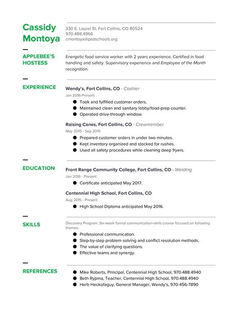 sle of resume reference page 28 images 100 simple
