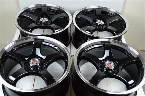 17 Drift Black Rims Wheels Cube Honda Civic Accord Prelude