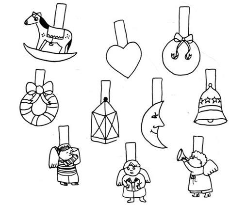 figure da ritagliare e ricomporre disegni di natale da colorare per finestre disegni di
