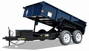 70sr Tandem Axle Single Ram Dump