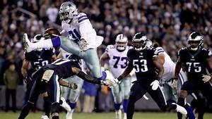 Watch Ezekiel Elliott Hurdles Eagles Defender Dallas