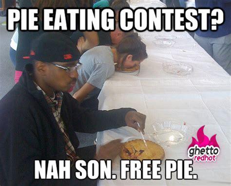Pie Memes - nah son ghetto red hot