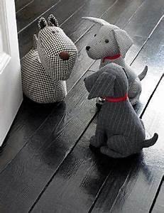 Cale Porte Animaux : chien bloc porte bricolage pinterest bloc porte bloc et portes ~ Teatrodelosmanantiales.com Idées de Décoration