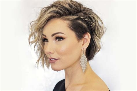 short hairstyles brown fashion and women