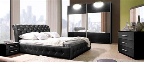 chambre adulte noir armoire chester chambre a coucher noirel 200 x h 217 x p 65