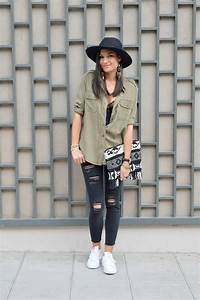 dentelle et chemise militaire june sixty five blog mode With blog tendance mode