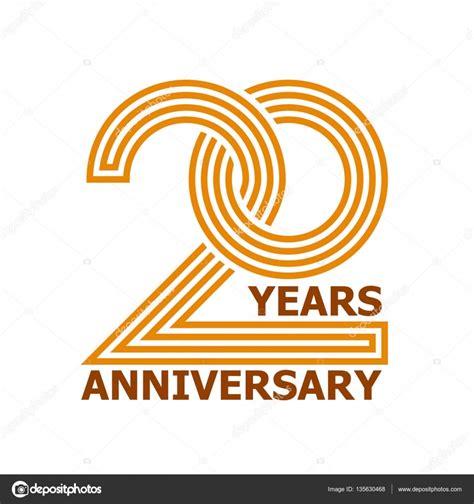20 Year Anniversary Symbol