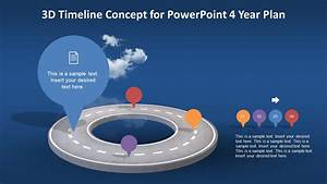 Animated 3d Timeline Concept For Powerpoint