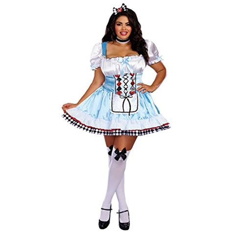 Beyond Wonderland Adult Costume - Plus Size 3X - Funtober