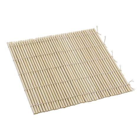 sushi roller mat 9 1 2 quot x 9 1 2 quot bamboo sushi rolling mat