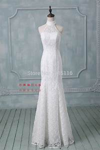 2016 latest halter lace mermaid wedding dresses plus size With wedding dress sample size