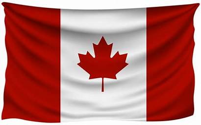 Flag Canada Clipart Canadian Transparent Clip Wrinkled