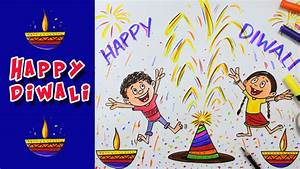 Diwali Special Colour Drawing 2016 - YouTube