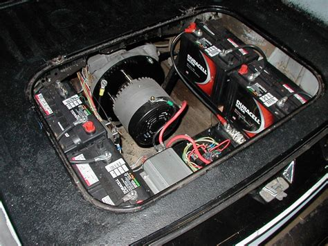 Electric Motor Battery by Motor In My Electric Squareback More Batteries In The