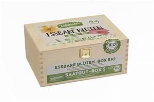 Bio Saatgut Kaufen : essbare bl ten saatgut box s bio holzbox bio samen set von saatgut dillmann ~ A.2002-acura-tl-radio.info Haus und Dekorationen