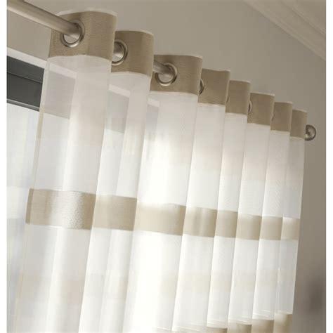 rideau de leroy merlin voilage tamisant edimbourg ivoire l 140 x h 265 cm leroy merlin