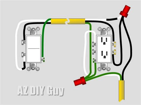 How Wire Split Switched Outlet Diy Guy