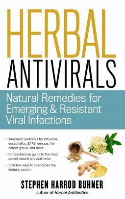 herbal antivirals natural remedies  emerging resistant viral infections  stephen harrod