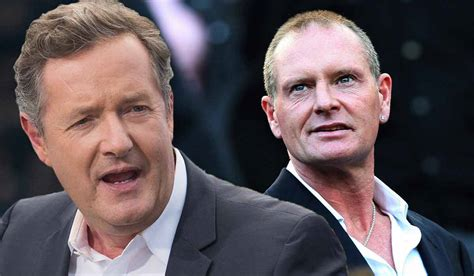 Piers Morgan Threatens Thieves Who Robbed Paul Gascoigne