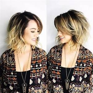 Coupe De Cheveux Femme Tendance 2019 : coiffure cheveux mi longs 2018 2019 coiffure simple et facile ~ Melissatoandfro.com Idées de Décoration