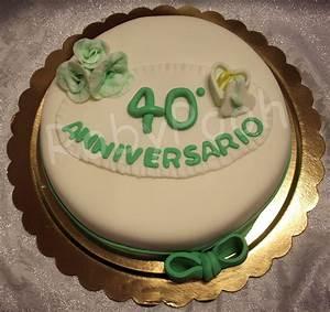 DolciDelizie Torta 40 Anniversario Di Matrimonio