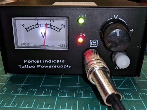 porket  tattoo power supply wiring diagram