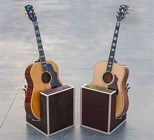 Guitar Throne: The world's 1st handcrafted wood acoustic ...