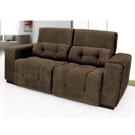 sofa retratil e reclinavel sofá 3 lugares linoforte duomo reclinável e retrátil em