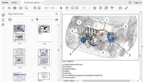 fiat ducato  workshop repair manual