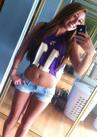 beauty babes  minnesota vikings nfl season sexy babe