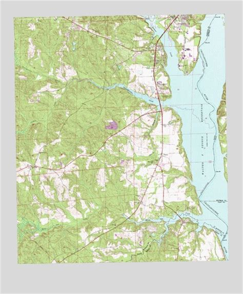 Eufaula South Al Topographic Map Topoquest