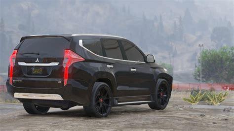 Mitsubishi Pajero Sport Modification by Gta 5 Mitsubishi Pajero Sport 2017 Mod Gtainside