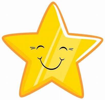 Smiley Face Happy Clipart Faces Stars Graphic