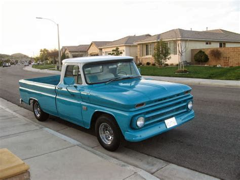 1966 Chevy C10 Pickup Fleetside, Inline 6 Engine, Classic