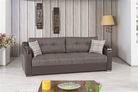 divan deluxe sofa bed  brown fabric  casamode woptions