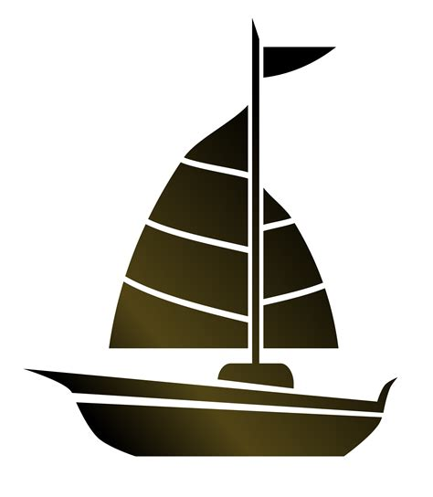 Simple Clipart Boat by Clipart Simple Sailboat