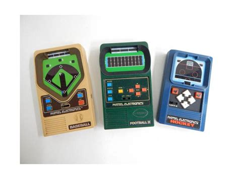 route  auctions mattel hand held sports games